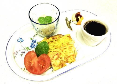 柚子みそトースト沢庵のせmorning.jpg
